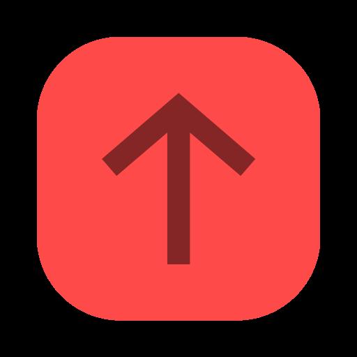 arrow, long arrow, up, up arrow, upward icon
