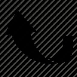 arrow, back, next, upload icon