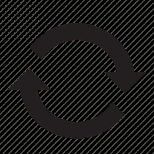 arrow, charging, circle, forward, next, refresh, sync icon