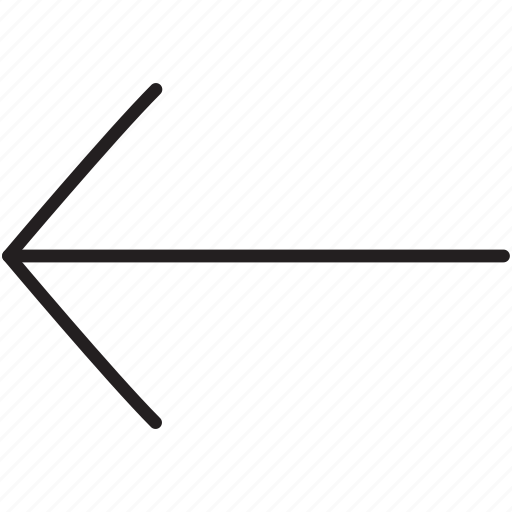 arrow, direction, left, replay, return icon