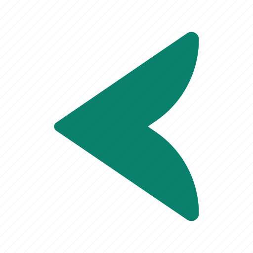 arrow, backward, direction, left, pointer icon