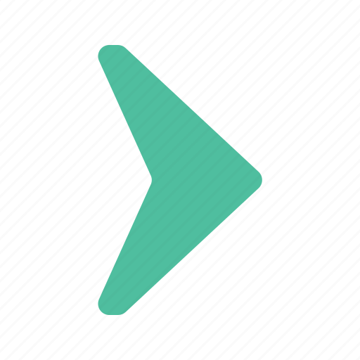 arrow, direction, next, pointer, right icon
