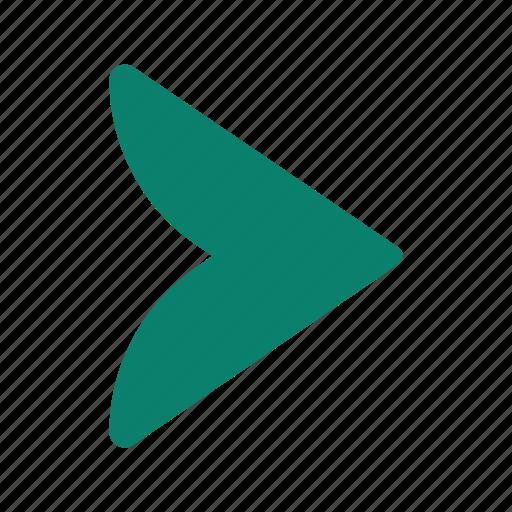 arrow, direction, forward, pointer, right icon