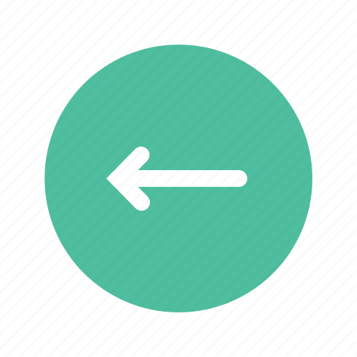 arrow, direction, left, pointer, sign icon