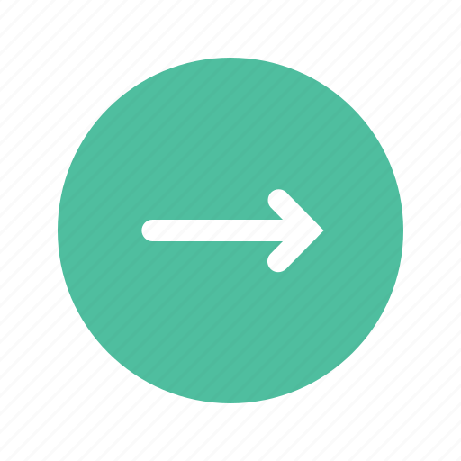 arrow, direction, pointer, right, sign icon
