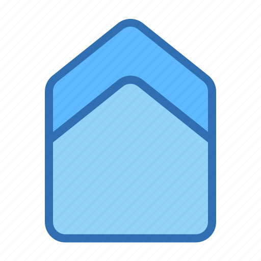Arrow, up, direction, location, marker, pin, pointer icon - Download on Iconfinder