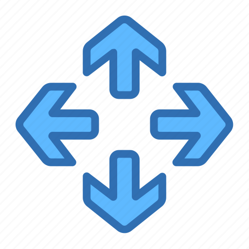 Arrows, expand, full, maximize, move, navigation icon - Download on Iconfinder