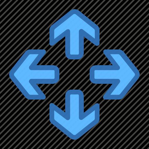 arrows, expand, full, maximize, move, navigation icon