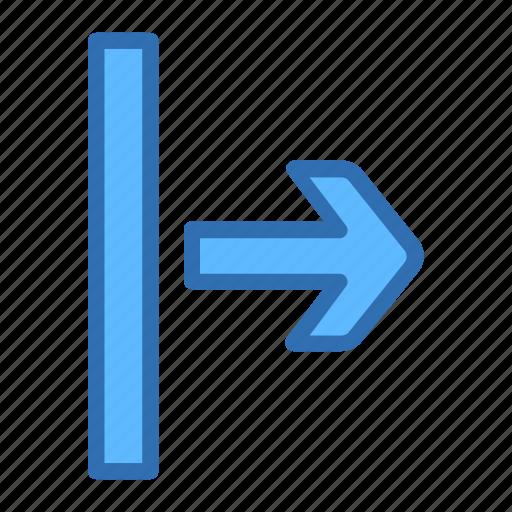 arrow, move, next, right, start icon