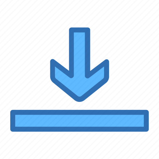 Arrow, down, download, finish icon - Download on Iconfinder