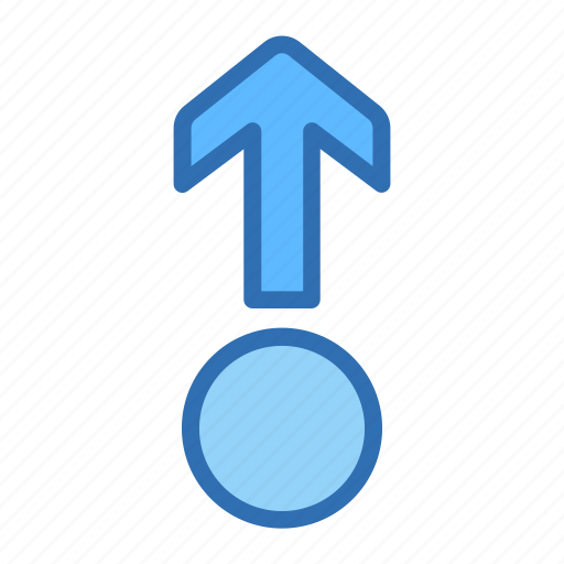 Arrow, up, circle, direction, move, point icon - Download on Iconfinder