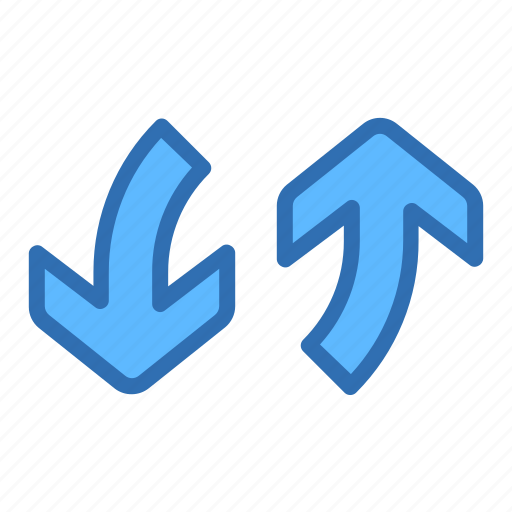 Direction, arrows, exchange, vertical icon - Download on Iconfinder