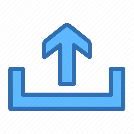 Arrow, up, output, send icon - Download on Iconfinder