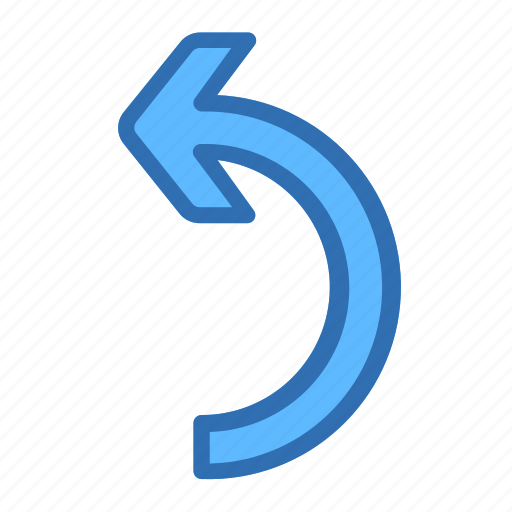 Arrow, left, back, redo, return, turn icon - Download on Iconfinder
