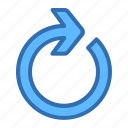 arrow, right, redo, refresh, reload, update