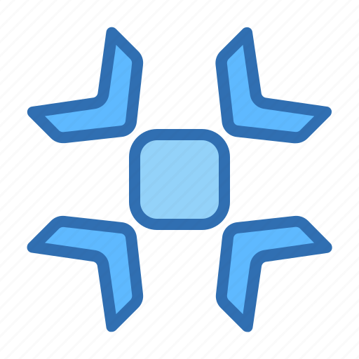 Direction, arrows, center, colapse, focus, pointer, target icon - Download on Iconfinder