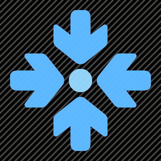 Direction, arrows, center, epicenter, focus, target icon - Download on Iconfinder