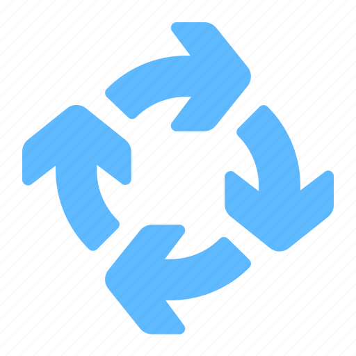 arrow, cycle, loop, recycle icon