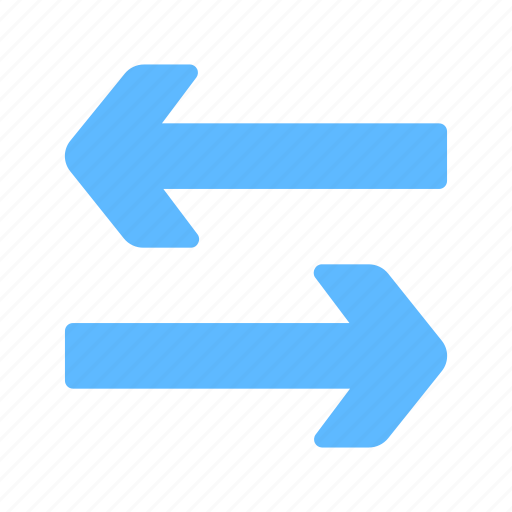 Exchange, horizontal, swap, transfer, arrows icon - Download on Iconfinder