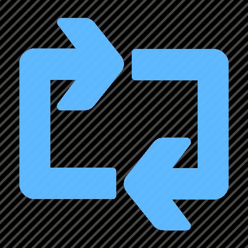 Arrows, loop, repeat, sync icon - Download on Iconfinder