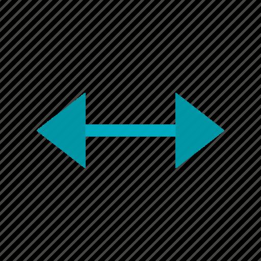 arrow, arrows, direction, double, left, right icon