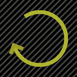 arrow, back, cancel, graphic, left, next icon