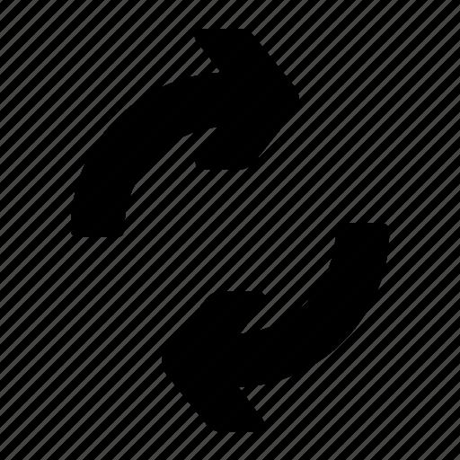 arrows, loop, refresh, reload, repeat icon