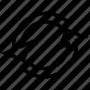arrow, interface, sign, user icon