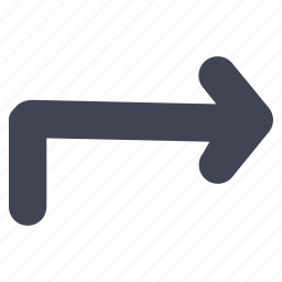 arrow, arrows, direction, navigation, right, turn icon