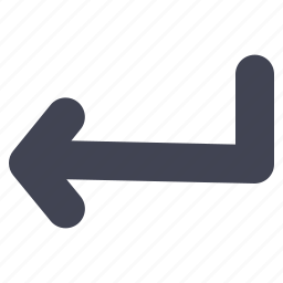 arrow, arrows, direction, left, navigation, turning icon
