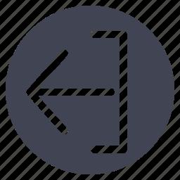 arrow, arrows, export, upload icon