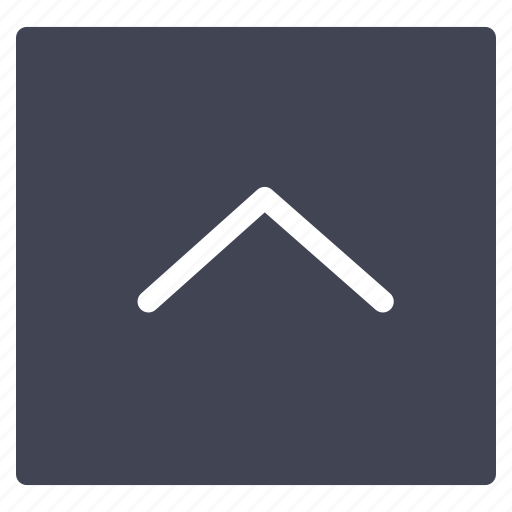 arrow, arrows, direction, pointer, square, up icon