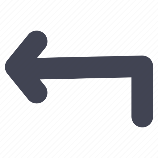 arrow, arrows, direction, left, navigation, turn icon