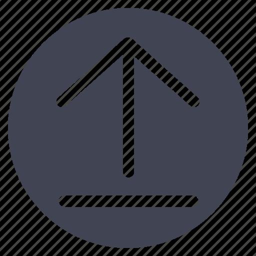 arrow, arrows, down, move, up, upload icon