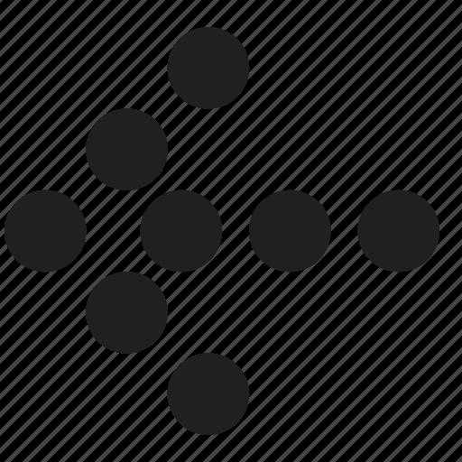 arrow, direction, select icon