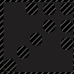 arrow, select, square icon
