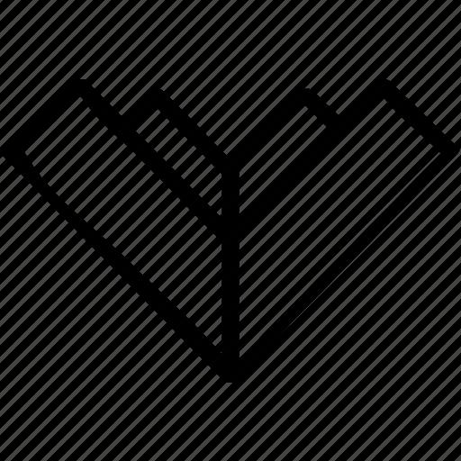 arrow, direciton, download icon
