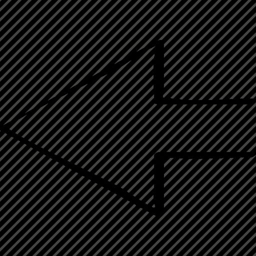 arrow, direct, point, pointer icon