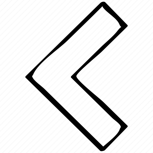 arrow, backwards, pointing icon