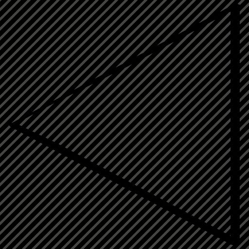 arrow, drawn, hand, left icon