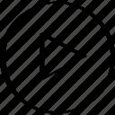 arrow, drawn, hand, right icon