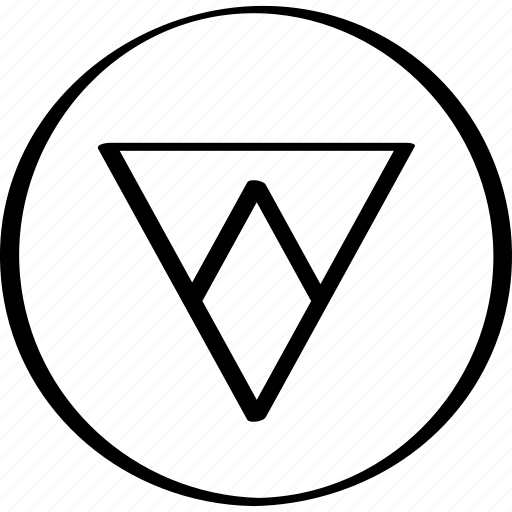 arrow, point, triangle icon