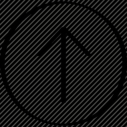 arrow, upload, uploadp icon