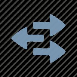 arrows, direction icon
