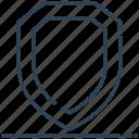blazon, logo, protect, shield, sign icon