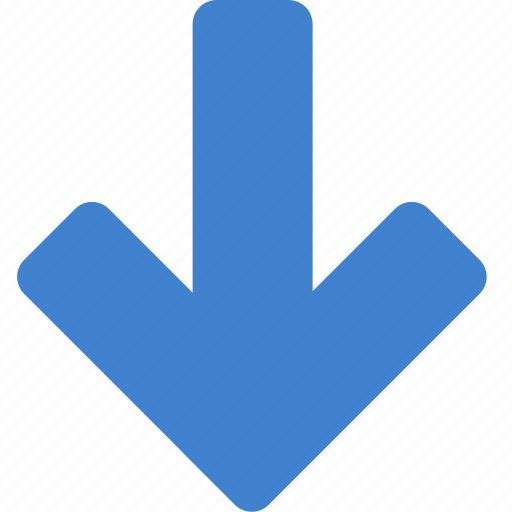 big, down icon
