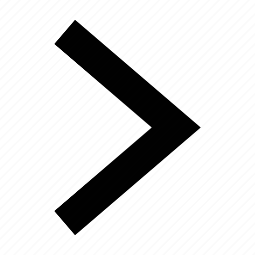 arrow, big, chevron icon