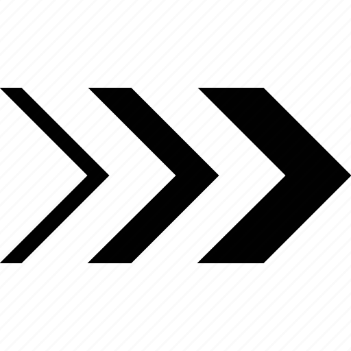 arrow, chevron, double, mix icon