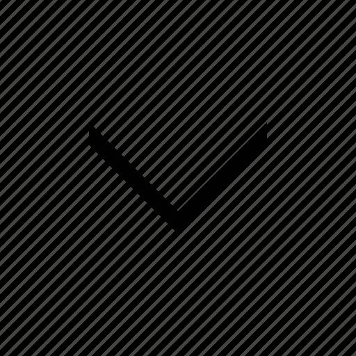 arrow, chevron, medium icon