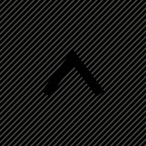 arrow, chevron icon